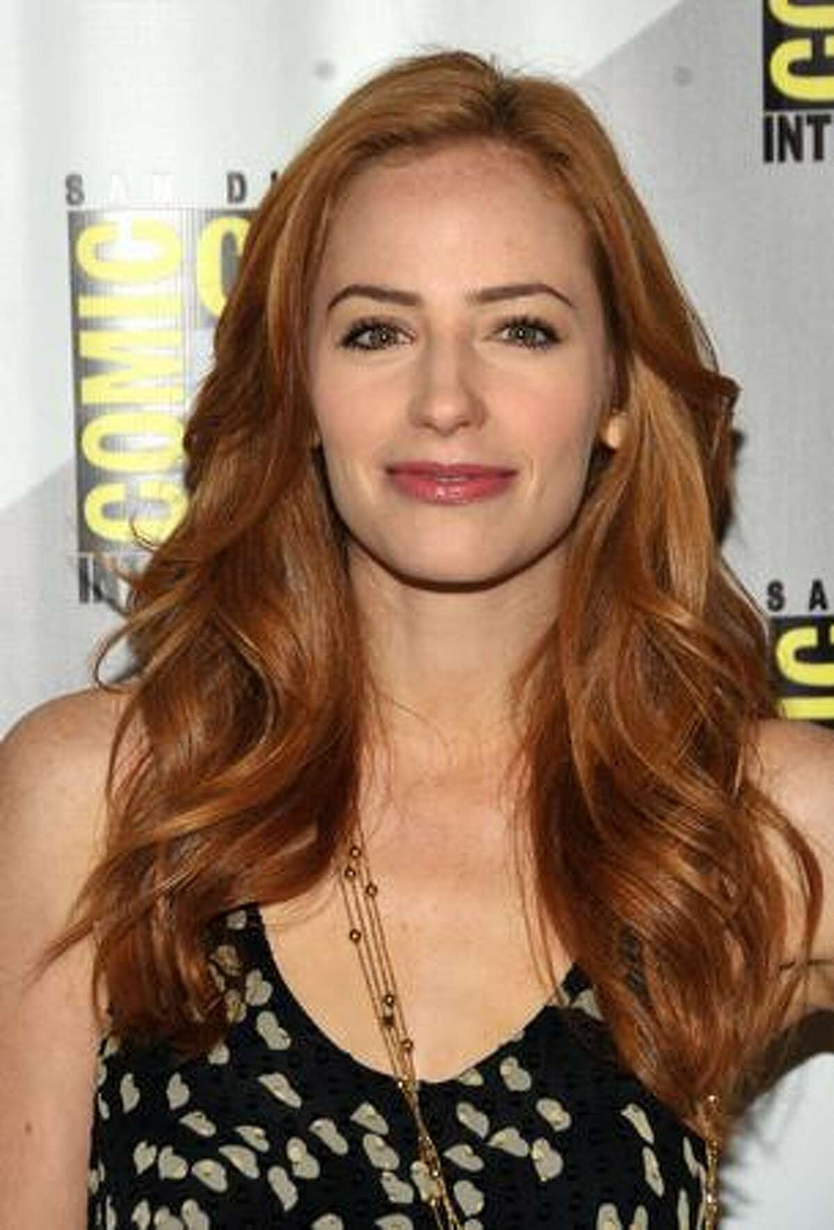 """SAN DIEGO - JULY 25: Actress Jaime Ray Newman attends the """"Eastwick""""pilot screening at Comic-Con 2009 held at San Diego Convention Center on July 25, 2009 in San Diego, California."""