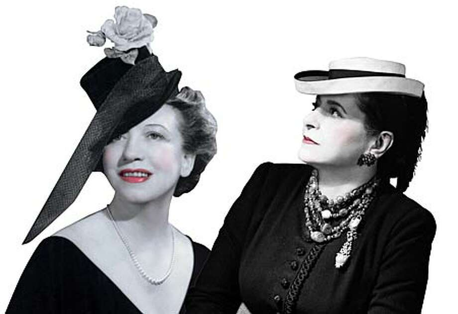 Elizabeth Arden, left, and Helena Rubinstein