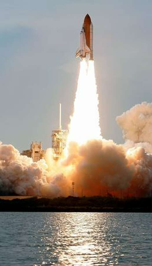 STS-127 Space Shuttle Endeavour launches from launch pad 39A at Kennedy Space Center July 15 in Cape Canaveral, Florida. After multiple delays due to hydrogen leaks and weather conditions, Endeavour is to deliver components of the Japan Aerospace Exploration Agency's Kibo laboratory to the International Space Station. Photo: Getty Images