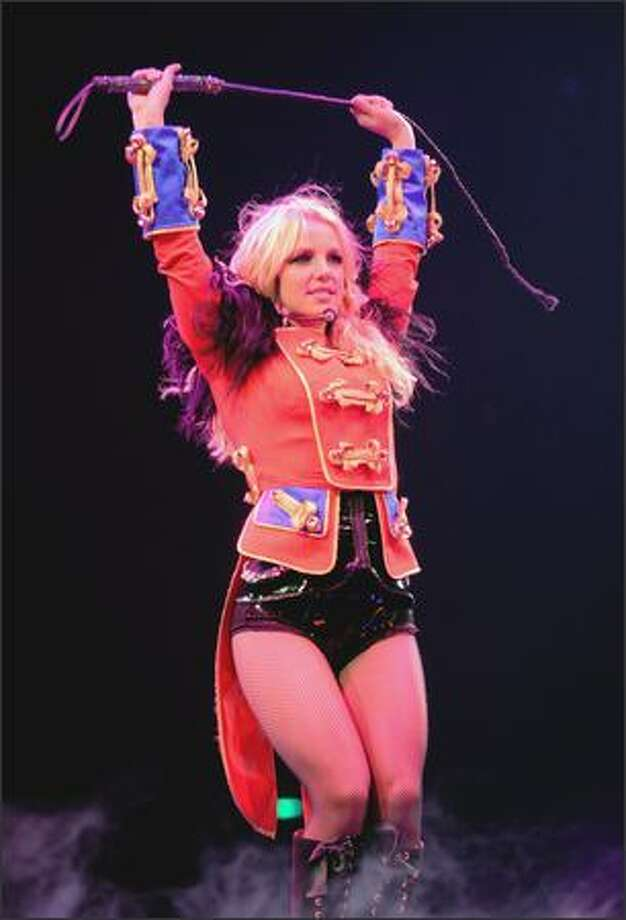 Britney Spears will make a stop April 9 at the Tacoma Dome. Photo: Kevin Mazur/Getty Images