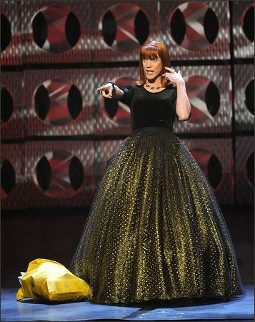 Miss Coco Peru onstage.