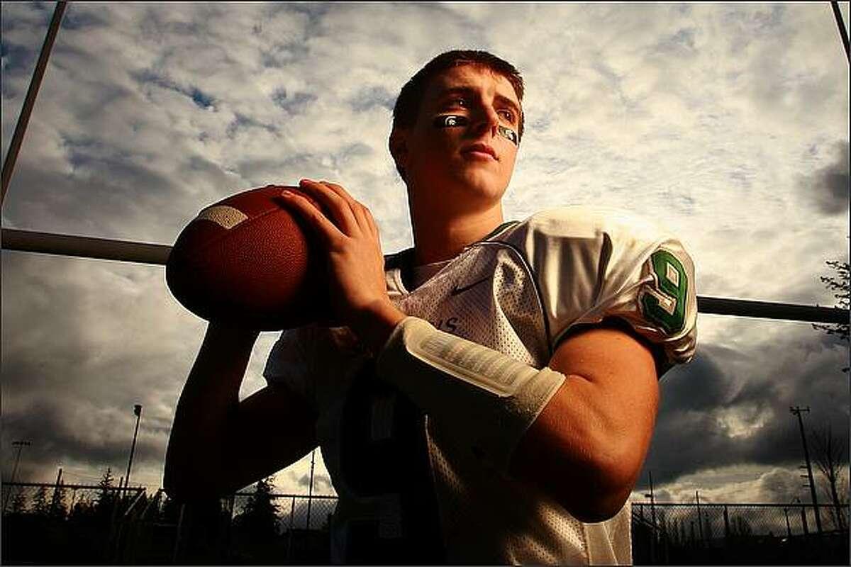 Skyline High School quarterback Jake Heaps.