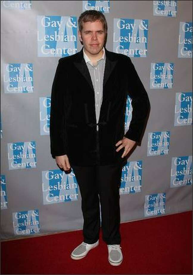 Celebrity blogger Perez Hilton arrives. Photo: Getty Images