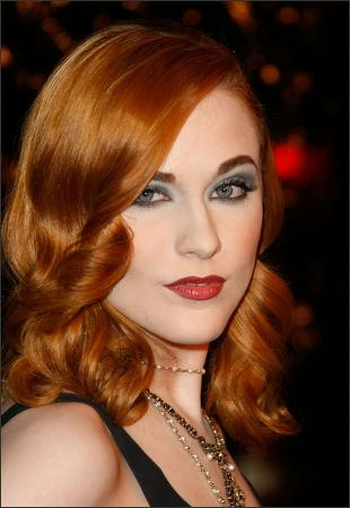 Actress Evan Rachel Wood arrives at the premiere of Fox Searchlight Pictures'