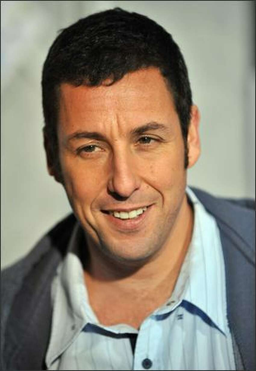 Cast member Adam Sandler arrives for the world premiere of