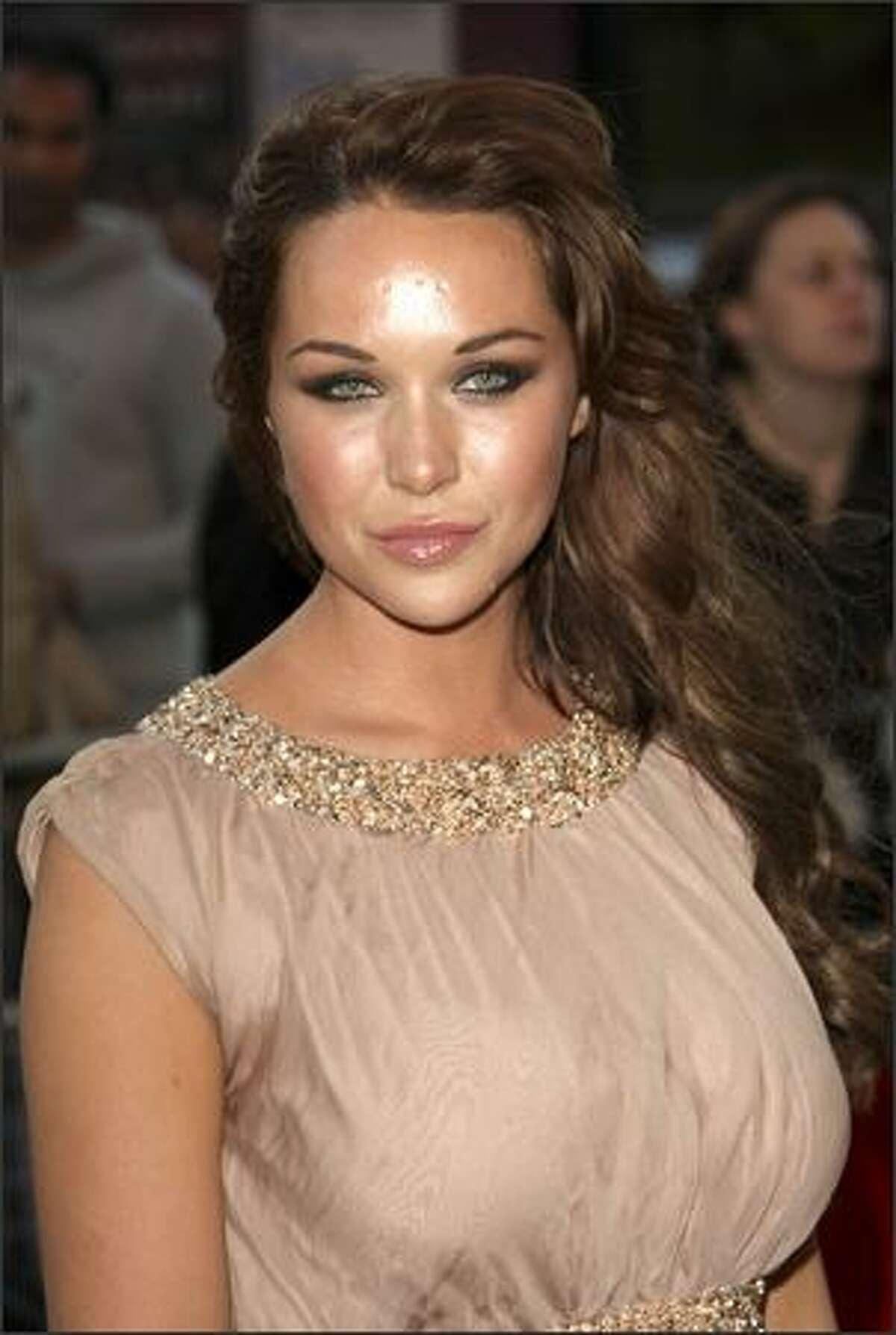 No. 80: Australian model Emily Scott attends (photo taken July 6, 2007).