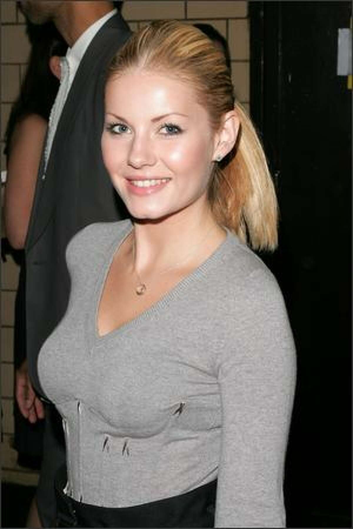 No. 7: Canadian actress Elisha Cuthbert (photo taken Sept. 10, 2007).