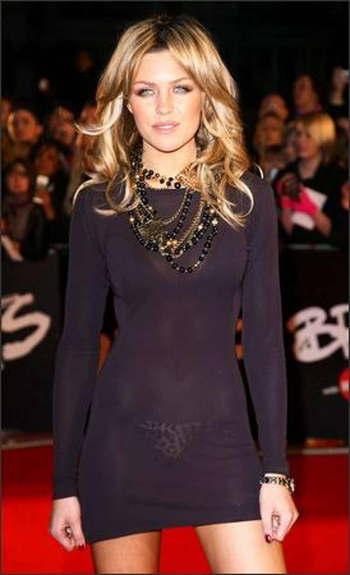 No. 12: English model Abigail Clancy (photo taken Feb. 20, 2008).