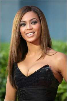 No. 59: American pop singer and actress Beyonce Knowles (photo taken April 23, 2009). Photo: Getty Images