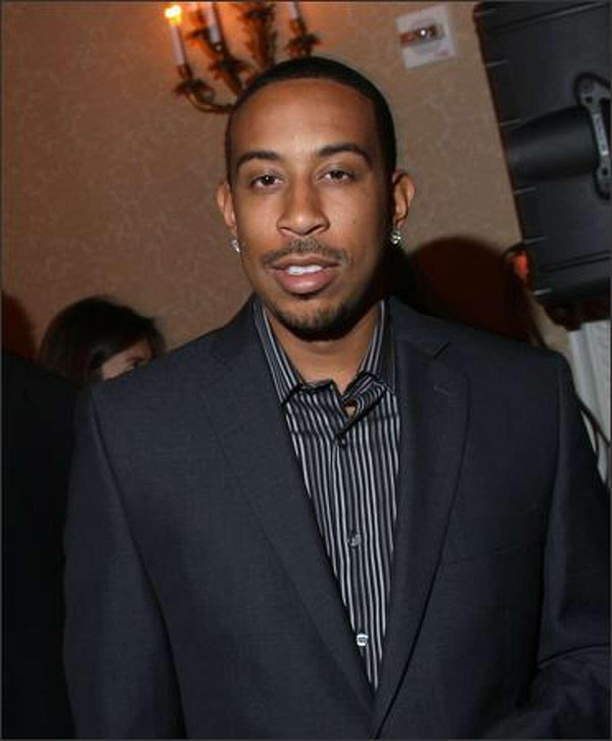 Ludacris attends.