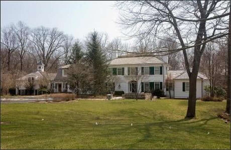 AIG executive Douglas Poling owns this home in Fairfield, Conn. Photo: Jesse Neider/Connecticut Post