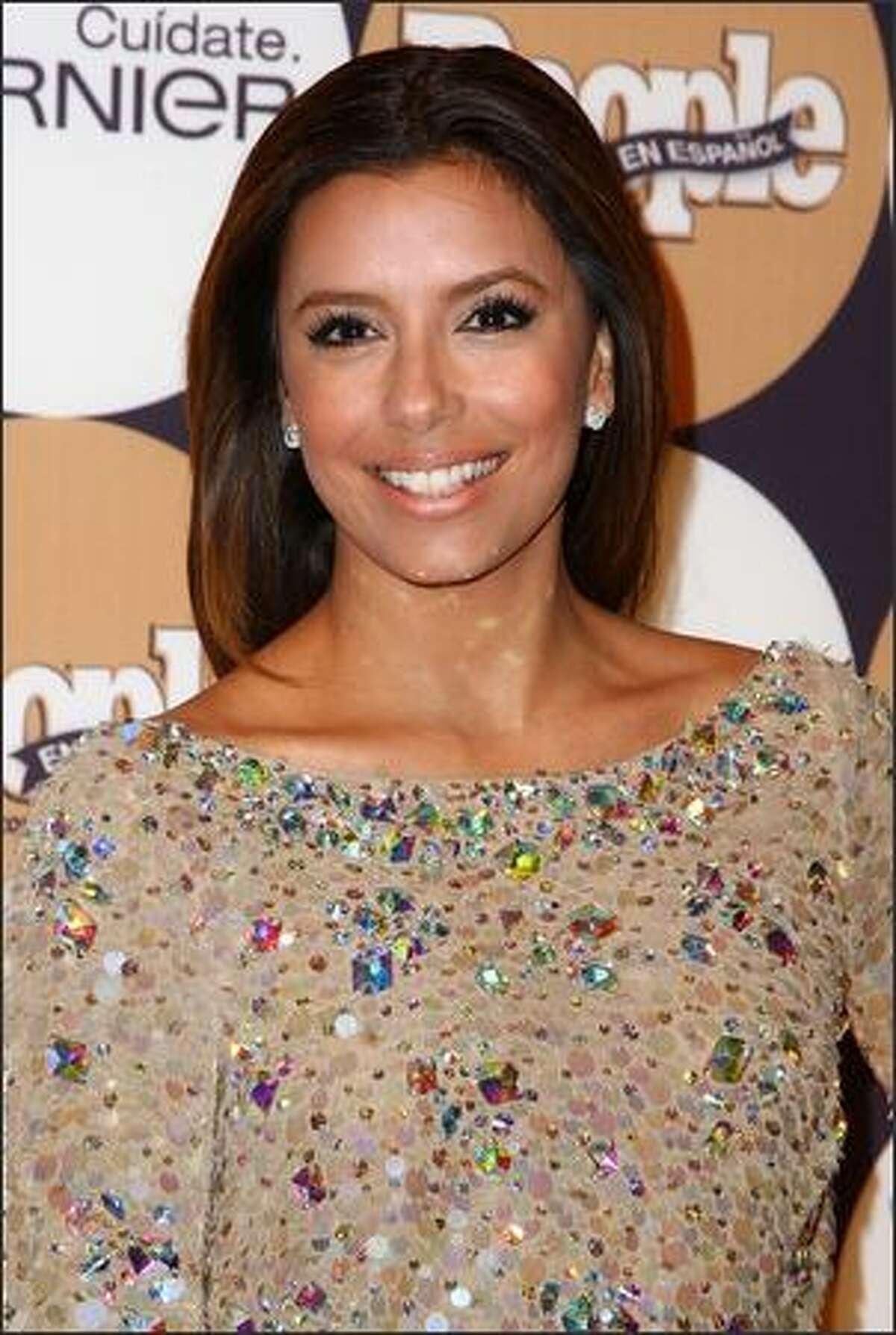 """Actress Eva Longoria Parker attends People en Espanol's """"50 Most Beautiful"""" event at The Edison Ballroom in New York on Wednesday, May 13, 2009."""