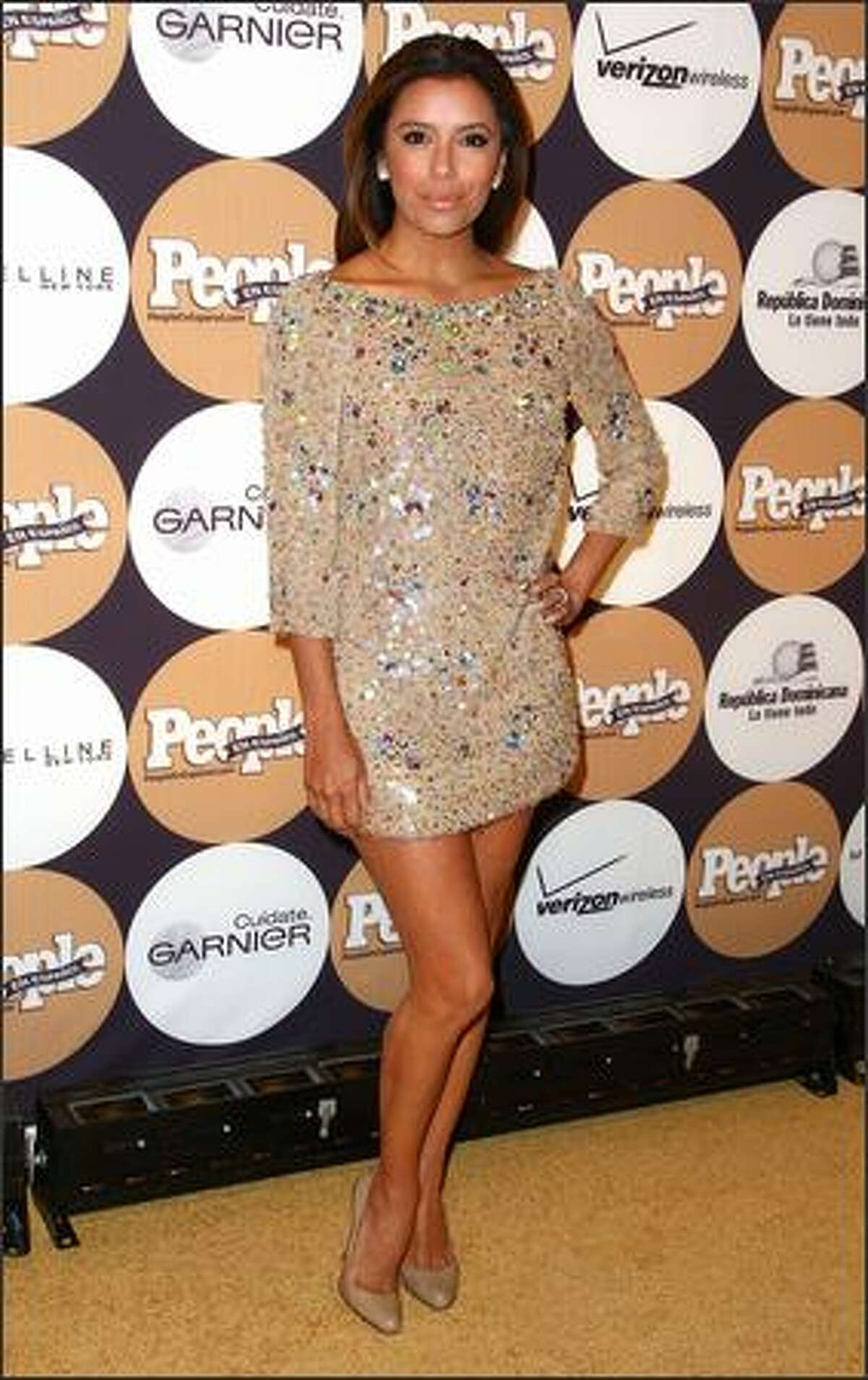 Actress Eva Longoria Parker attends.