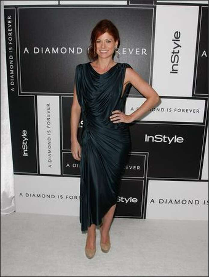 Actress Debra Messing attends the 8th Annual Awards Season Diamond Fashion Show Preview hosted by the Diamond Information Center and InStyle held at The Beverly Hills Hotel on Thursday in Beverly Hills, Calif. Photo: Getty Images