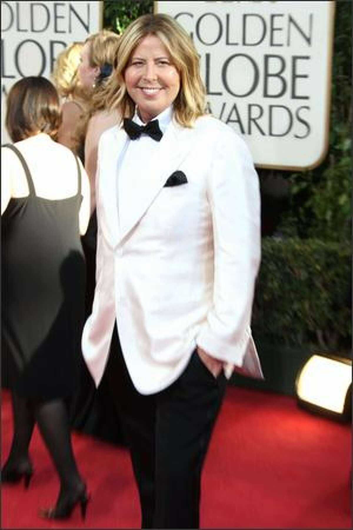 Fashion critic Steven Cojocaru arrives at the 66th Annual Golden Globe Awards held at the Beverly Hilton Hotel in Beverly Hills, California.