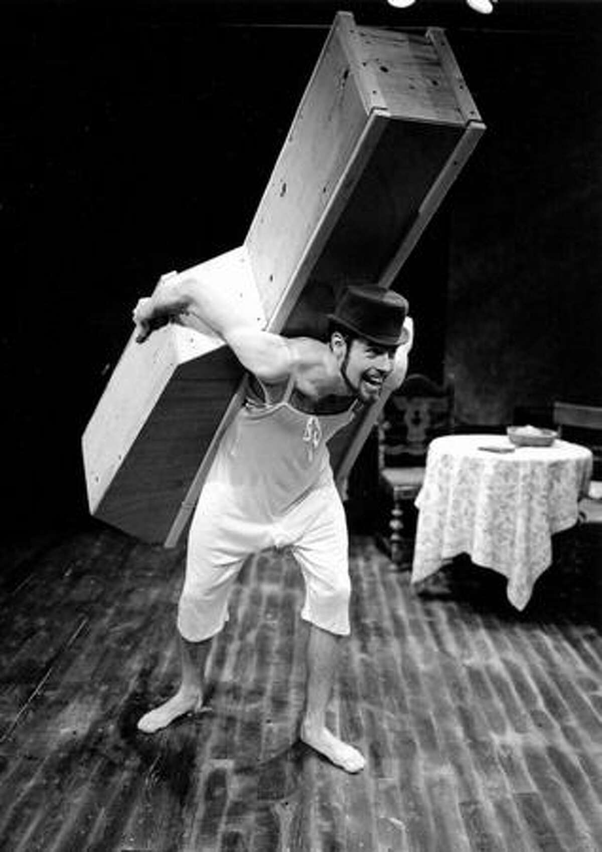 A scene from one of the shows at Book-It Repertory Theatre. (Book-It Repertory Theatre)