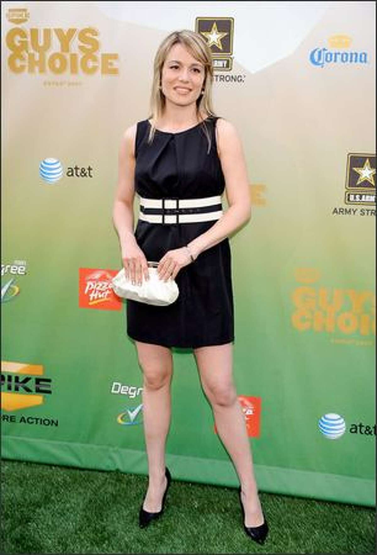 """Table tennis player Biba Golic arrives at Spike TV's 2009 """"Guys Choice Awards"""" held at the Sony Studios in Los Angeles on Saturday, May 30, 2009."""