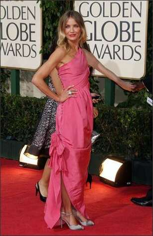 Actress Cameron Diaz arrives at the 66th Annual Golden Globe Awards held at the Beverly Hilton Hotel in Beverly Hills, California. Photo: Getty Images