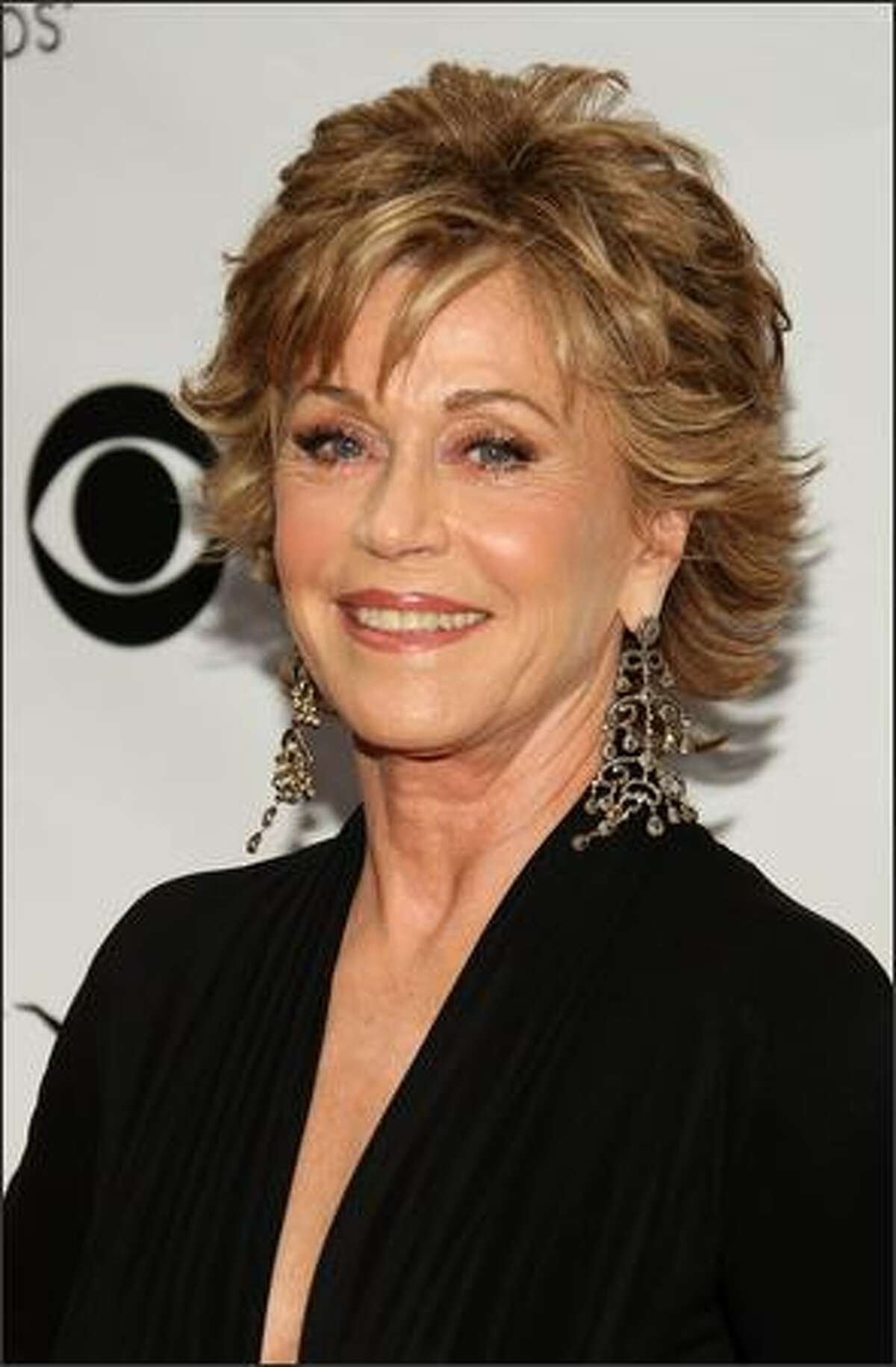 Actress Jane Fonda attends the 63rd Annual Tony Awards at Radio City Music Hall on Sunday in New York City.