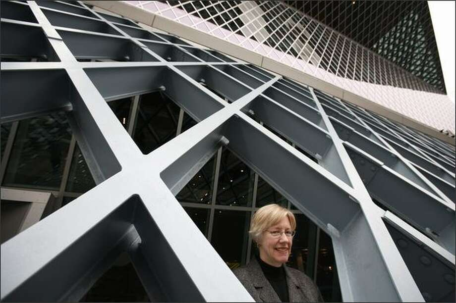 Susan Hildreth is the new city of Seattle librarian. She was photographed at the Seattle Public Library on Tuesday, March 3. Photo: Paul Joseph Brown/Seattle Post-Intelligencer