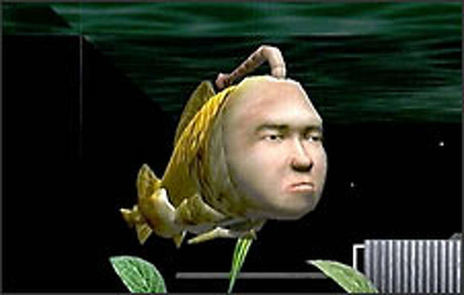 Seaman is a fish-man video game pet that insults gamers trying to feed and care for him. Photo: Courtesy Sega Of America