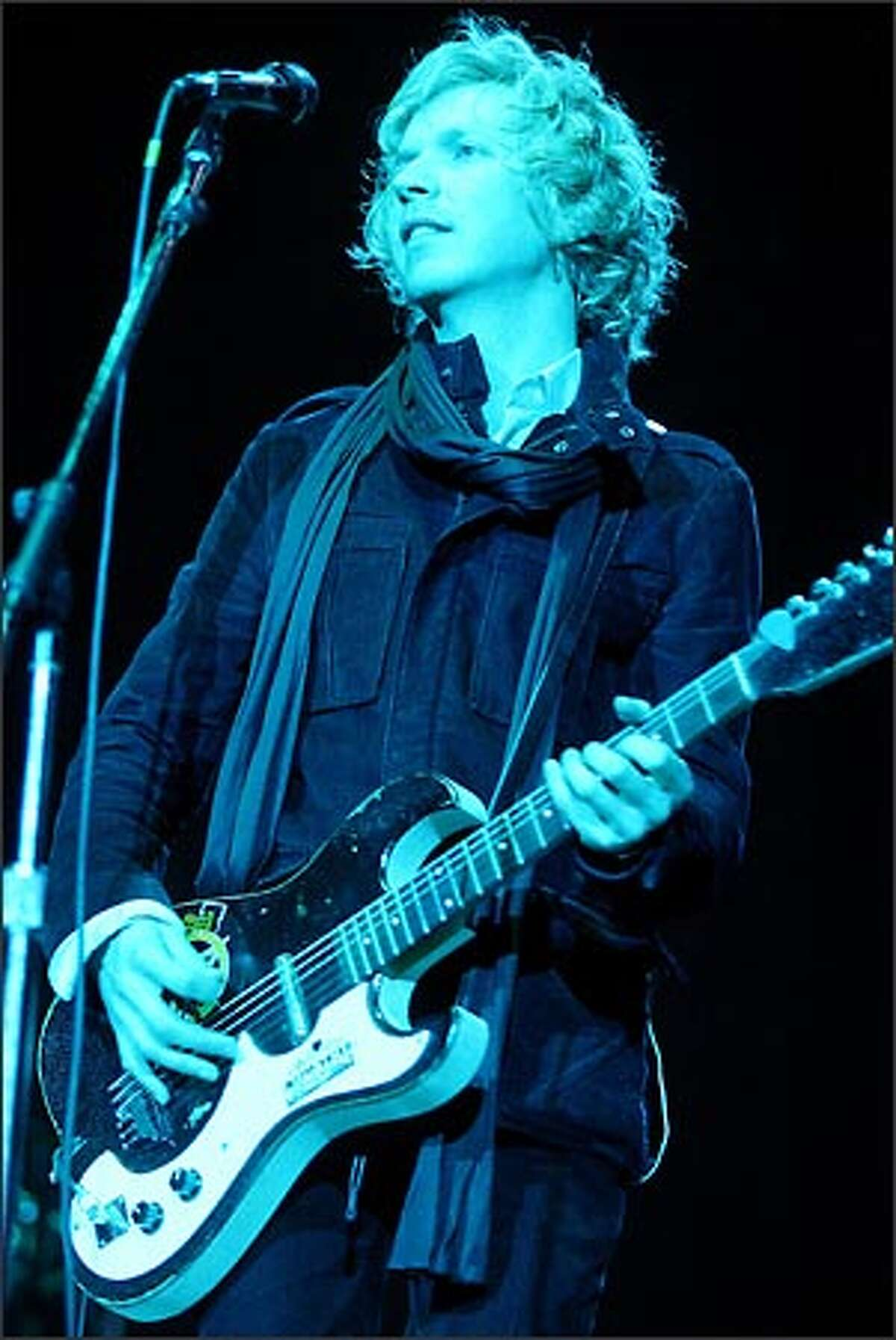 """Beck is near the end of a two-month """"Sea Change"""" tour of America. He'll begin a tour of Europe in August."""