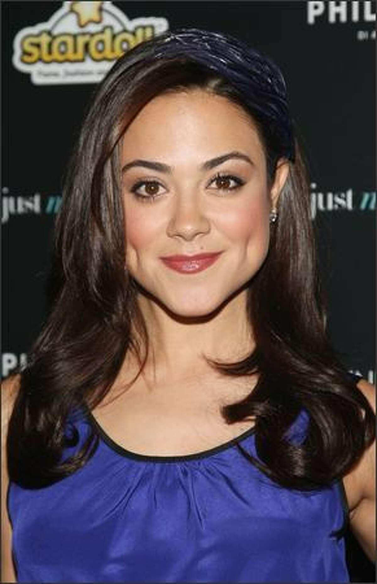 Actress Camille Guaty attends the screening.