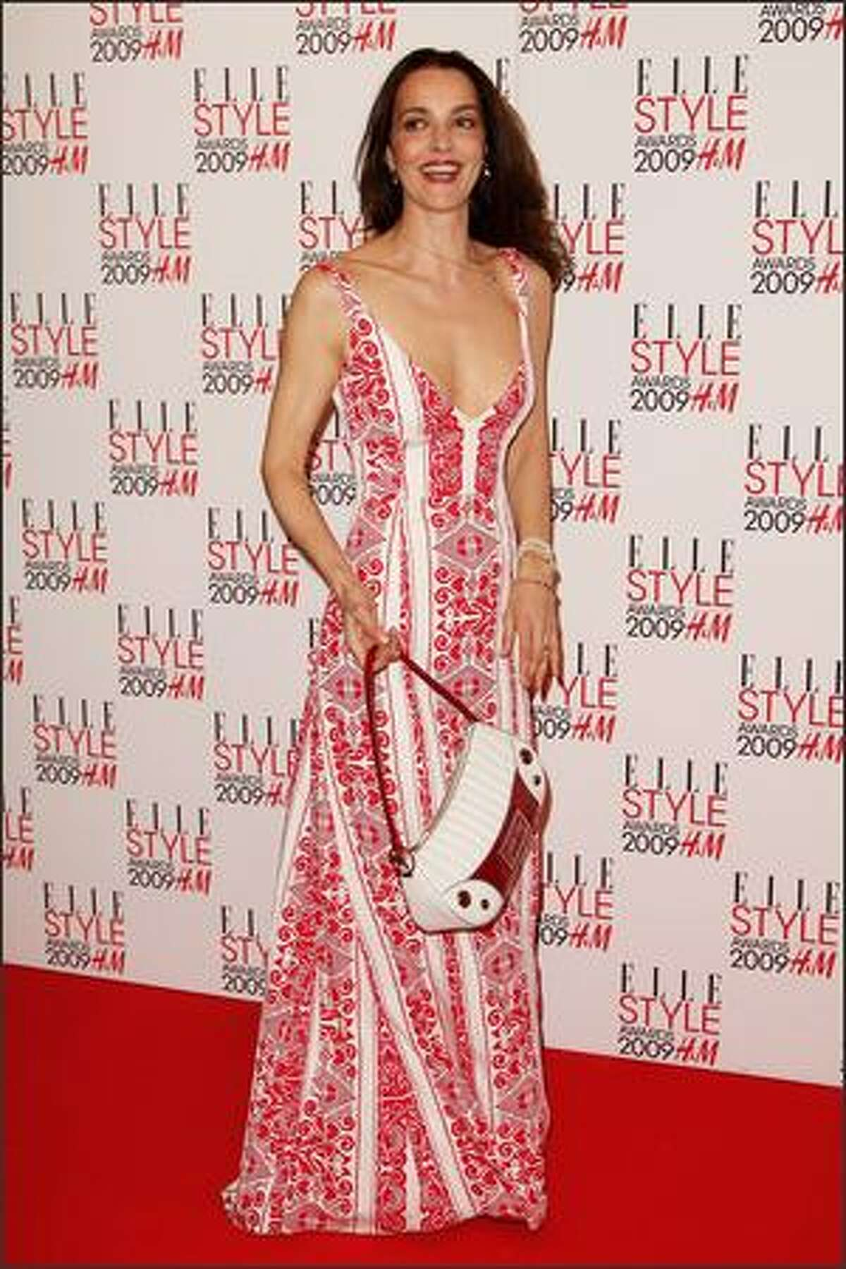 Catherine Bailey attends The Elle Style Awards 2009 held at Big Sky Studios, Caledonian Road in London, England.