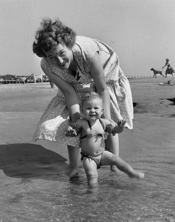 August 1955: Even babies got into the act. Photo: Getty Images