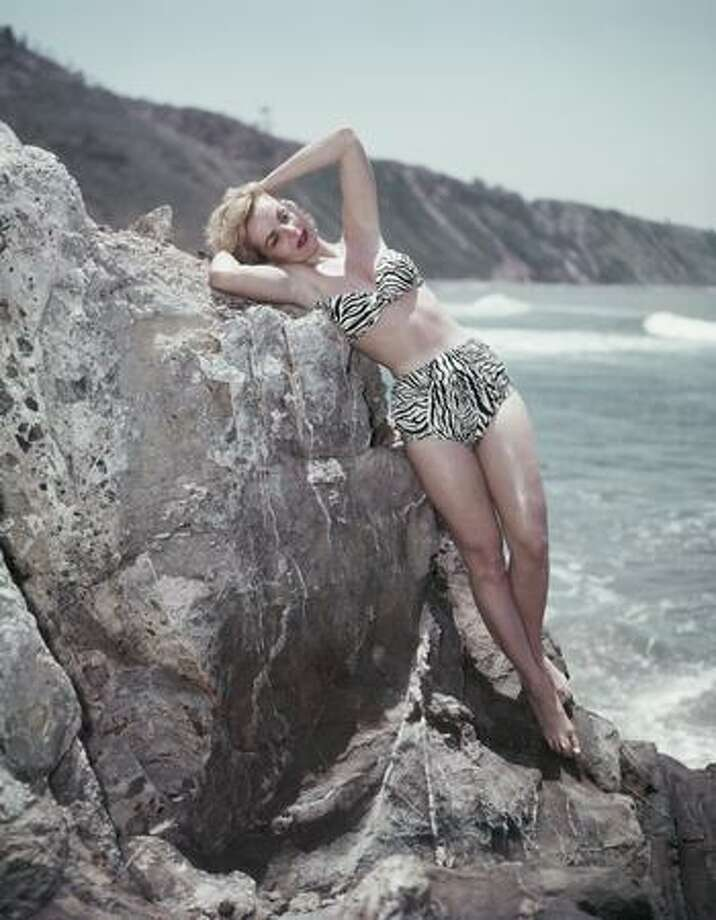 1955: And a zebra print. Photo: Getty Images