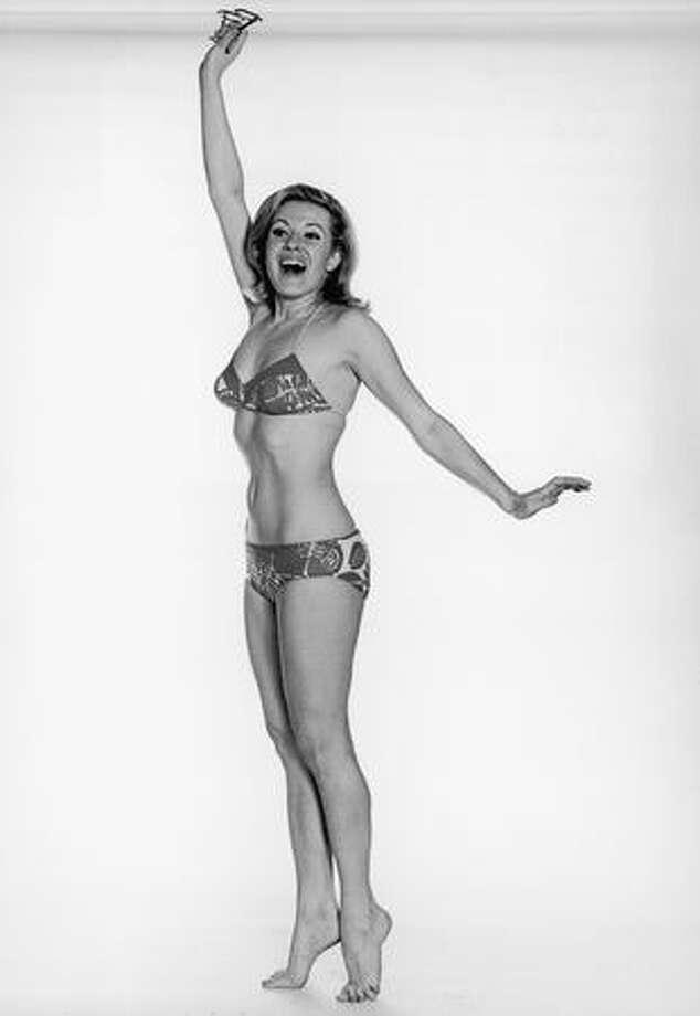 Circa 1970: The bikini creeps toward a future of less and less fabric. Photo: Getty Images