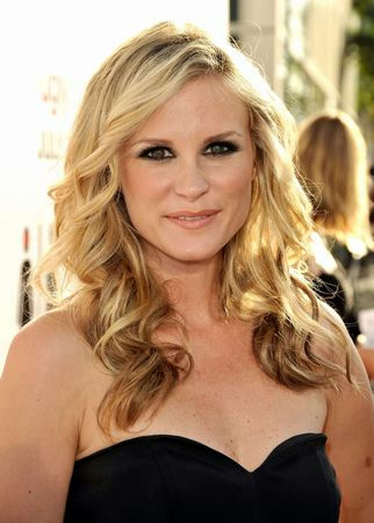 Actress Bonnie Somerville arrives at the premiere of Columbia Pictures'