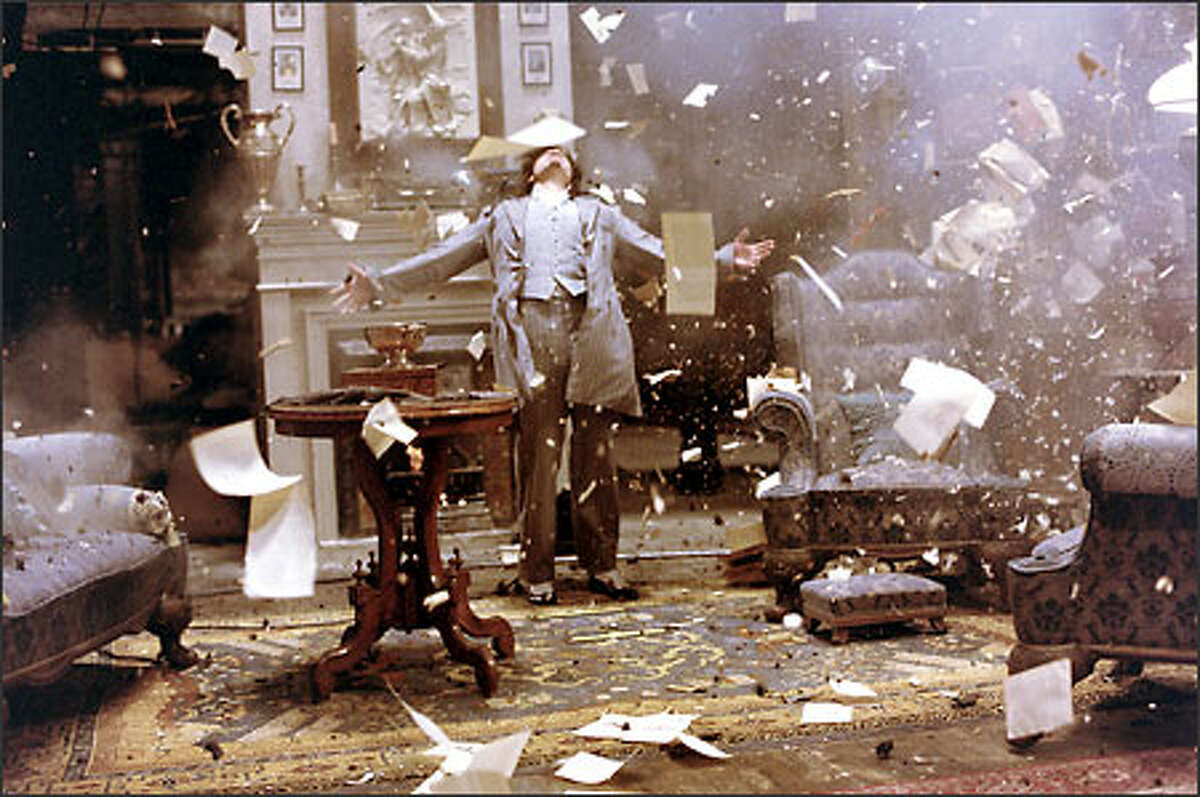 A hail of bullets has no effect on the ageless and invulnerable Dorian Gray (Stuart Townsend). Oscar Wilde introduced the character in 1891's