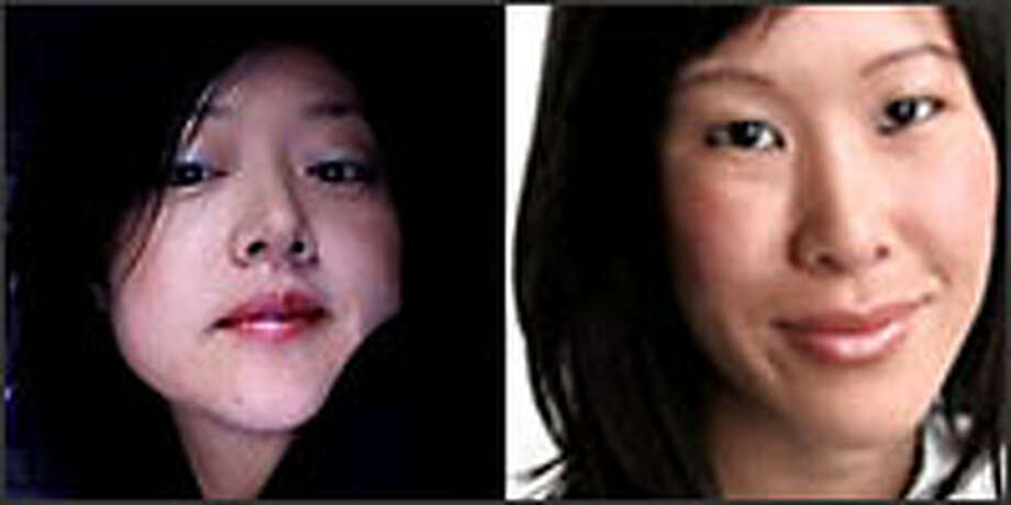 Euna Lee, left, and Laura Ling. Photo: AP