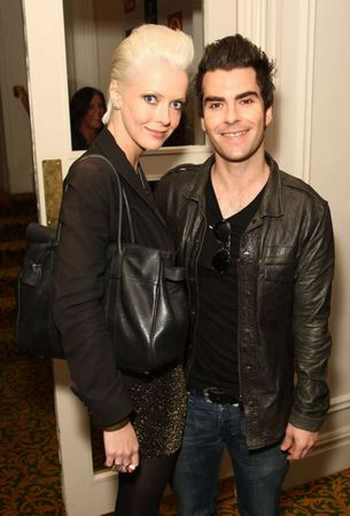 Kelly Jones (R) and guest attend the 2009 Q Awards held at the Grosvenor House Hotel in London, England.