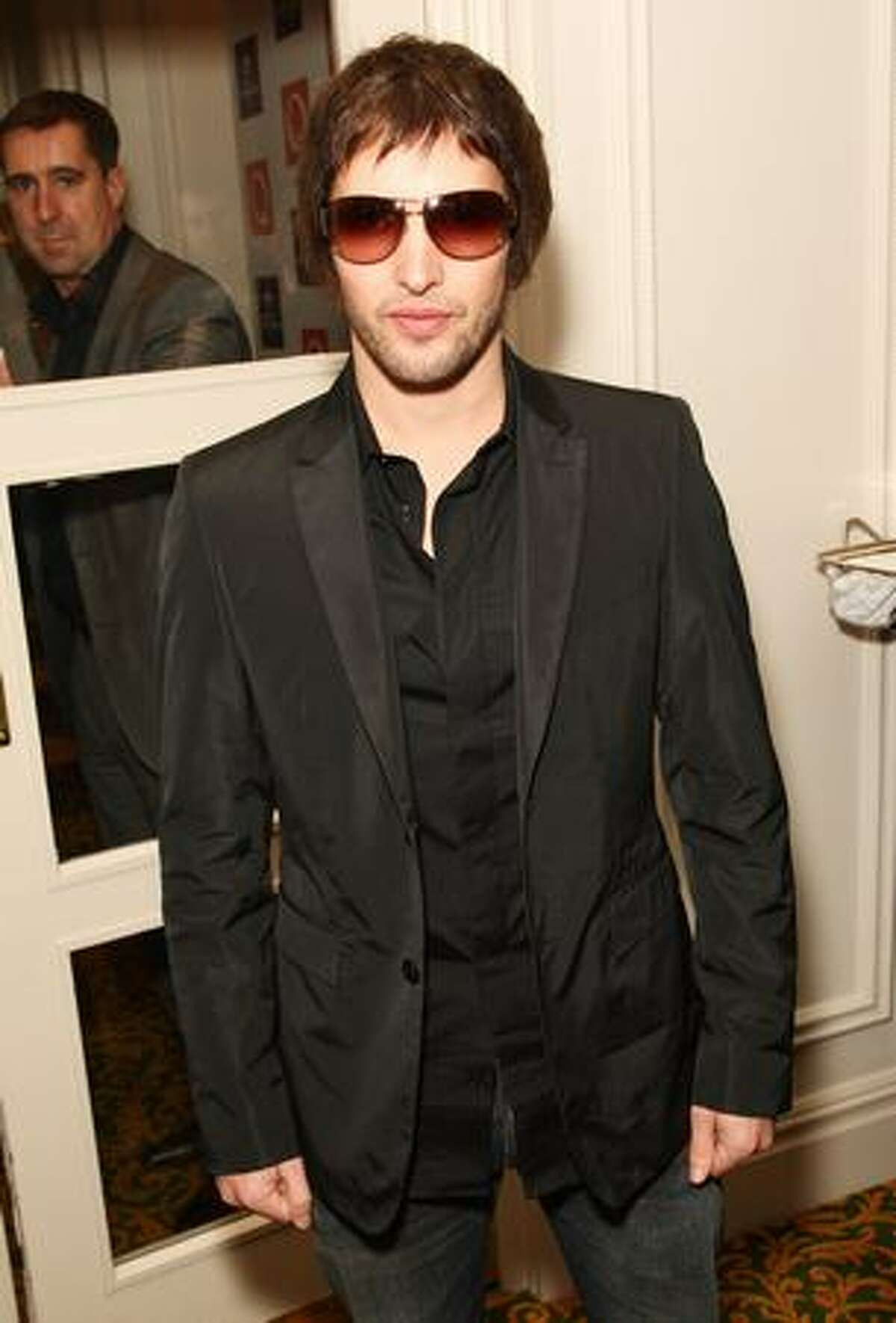 James Blunt attends the 2009 Q Awards held at the Grosvenor House Hotel in London, England.