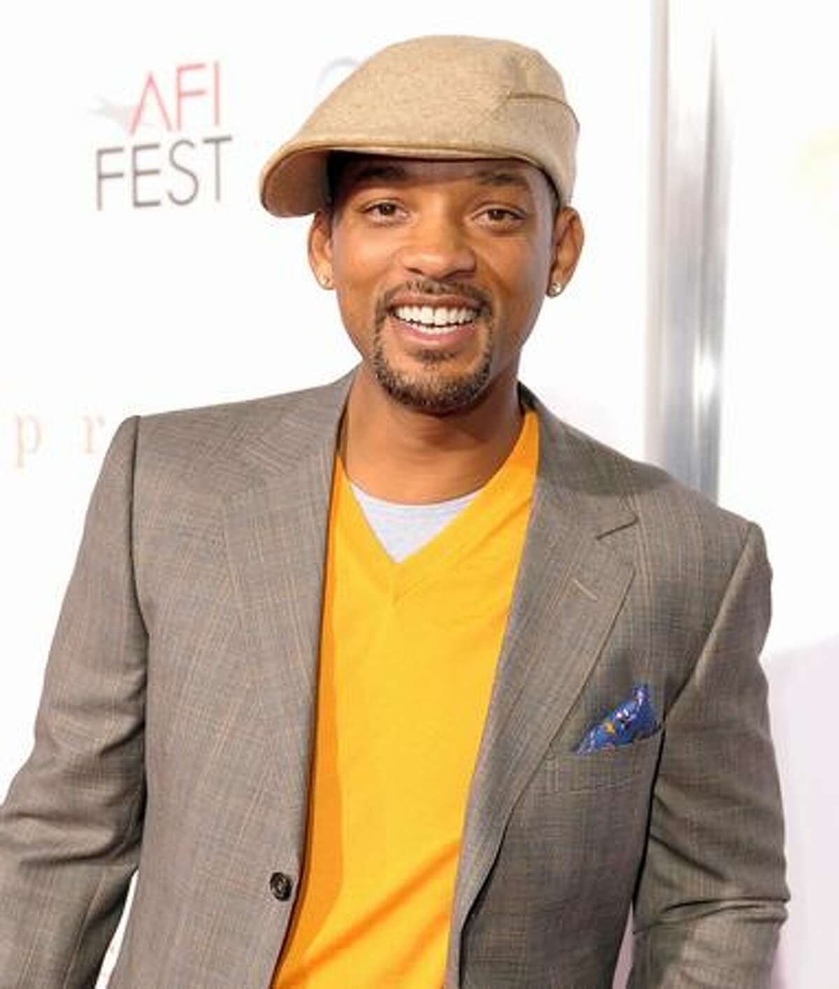Actor Will Smith arrives at the screening of