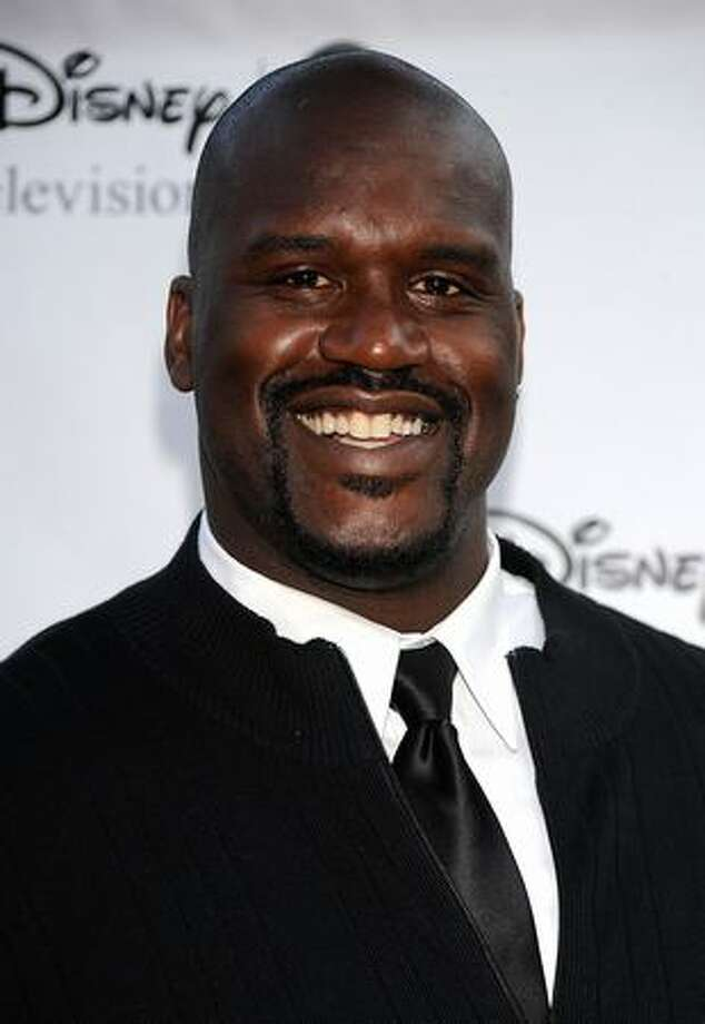 Sportsmans Shaquille O'Neal arrives at Disney-ABC Television Group Summer Press Tour Party at The Langham Hotel in Pasadena, California. Photo: Getty Images