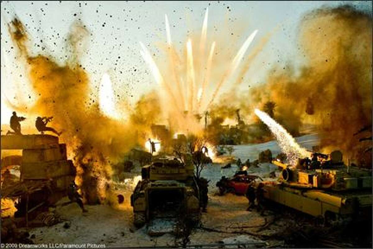 Director Michael Bay is not known for the subtlety of his films, as suggested by this scene from