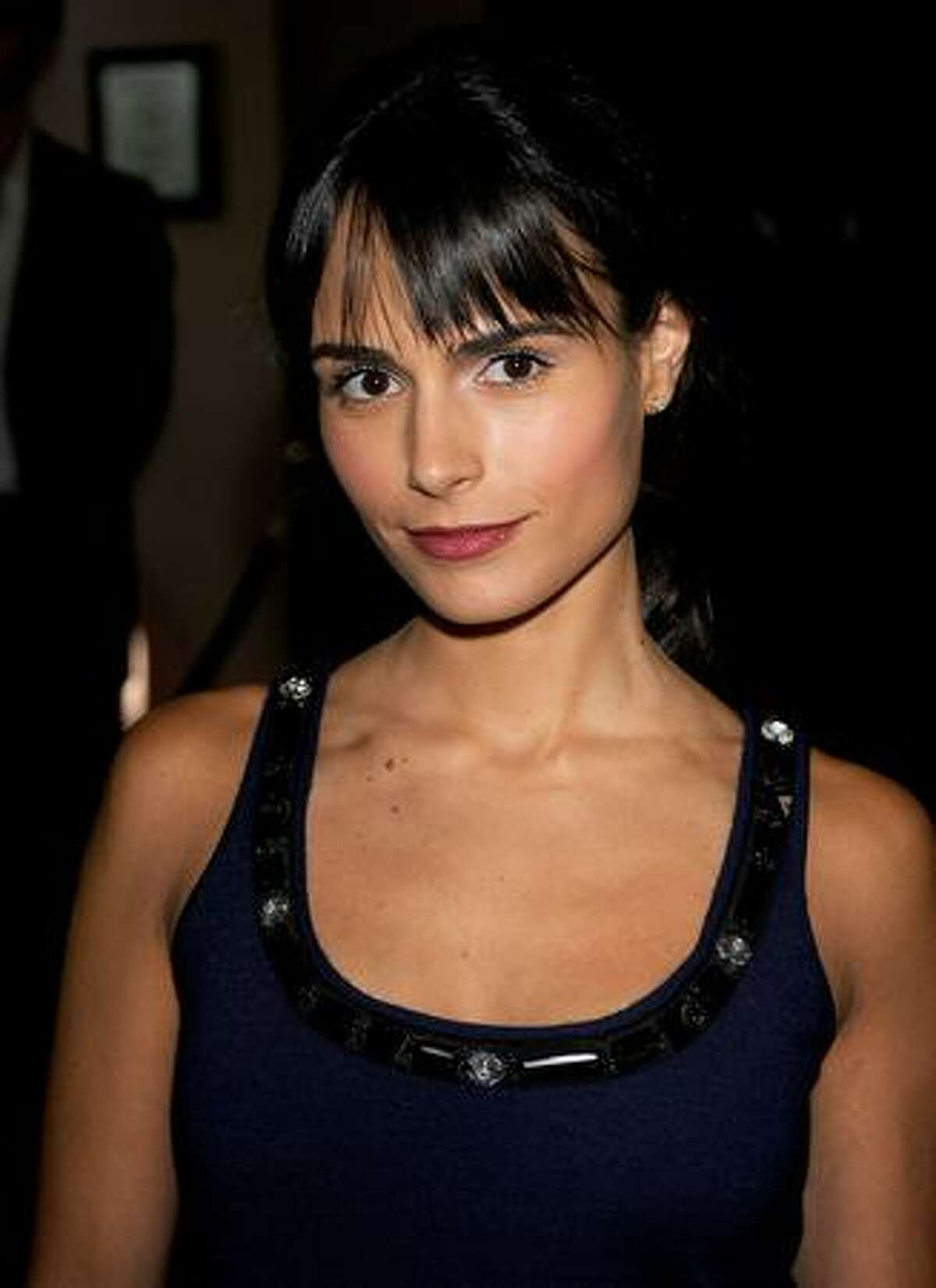 Actress Jordana Brewster arrives at the Hollywood Foreign Press Association's installation luncheon held at the Beverly Hills Hotel in Beverly Hills, California.
