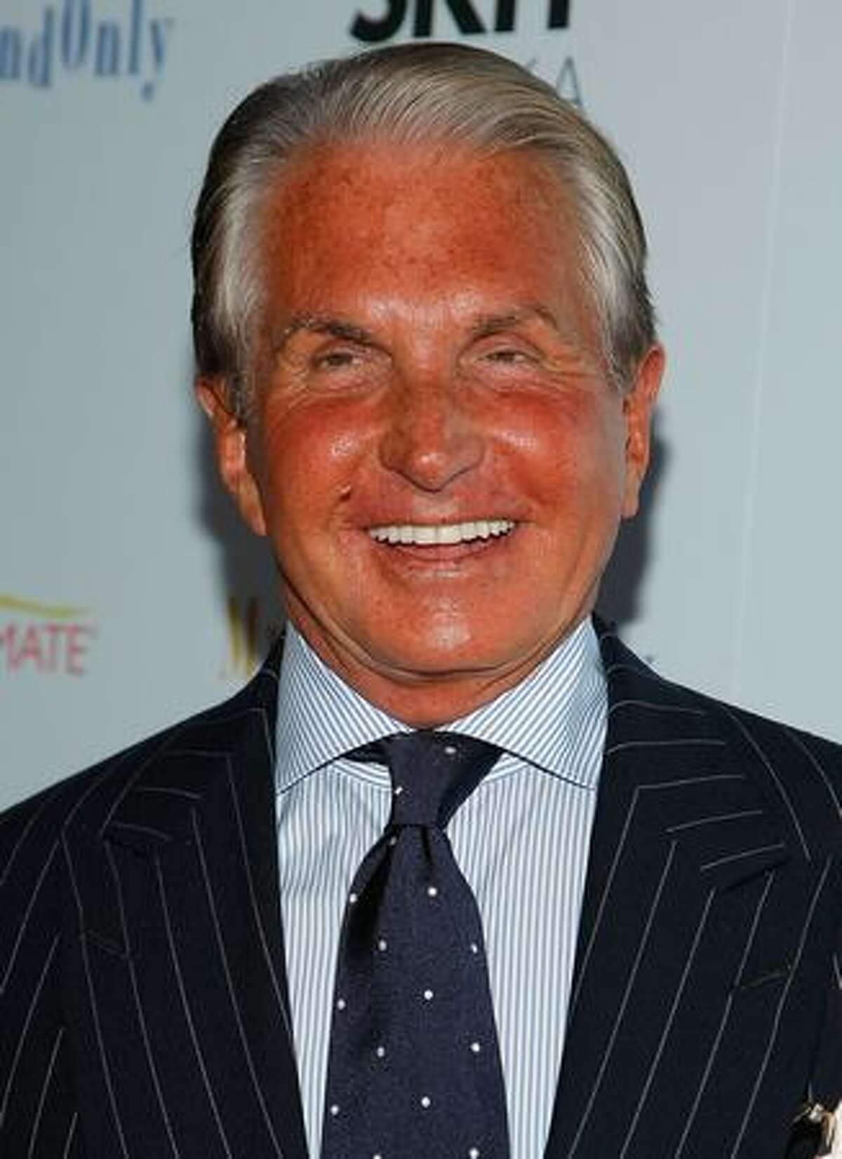 Actor George Hamilton attends the premiere of