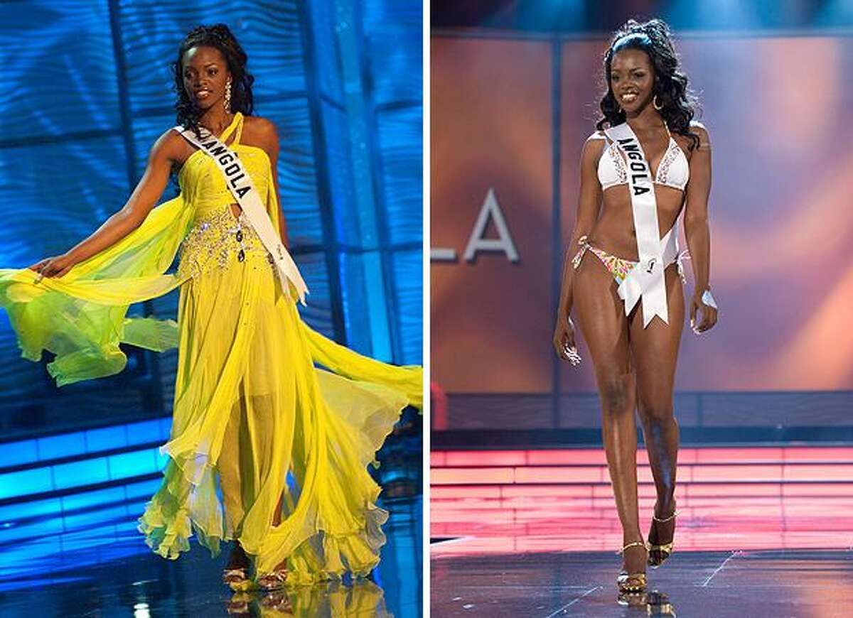 Nelsa Alves, Miss Angola.