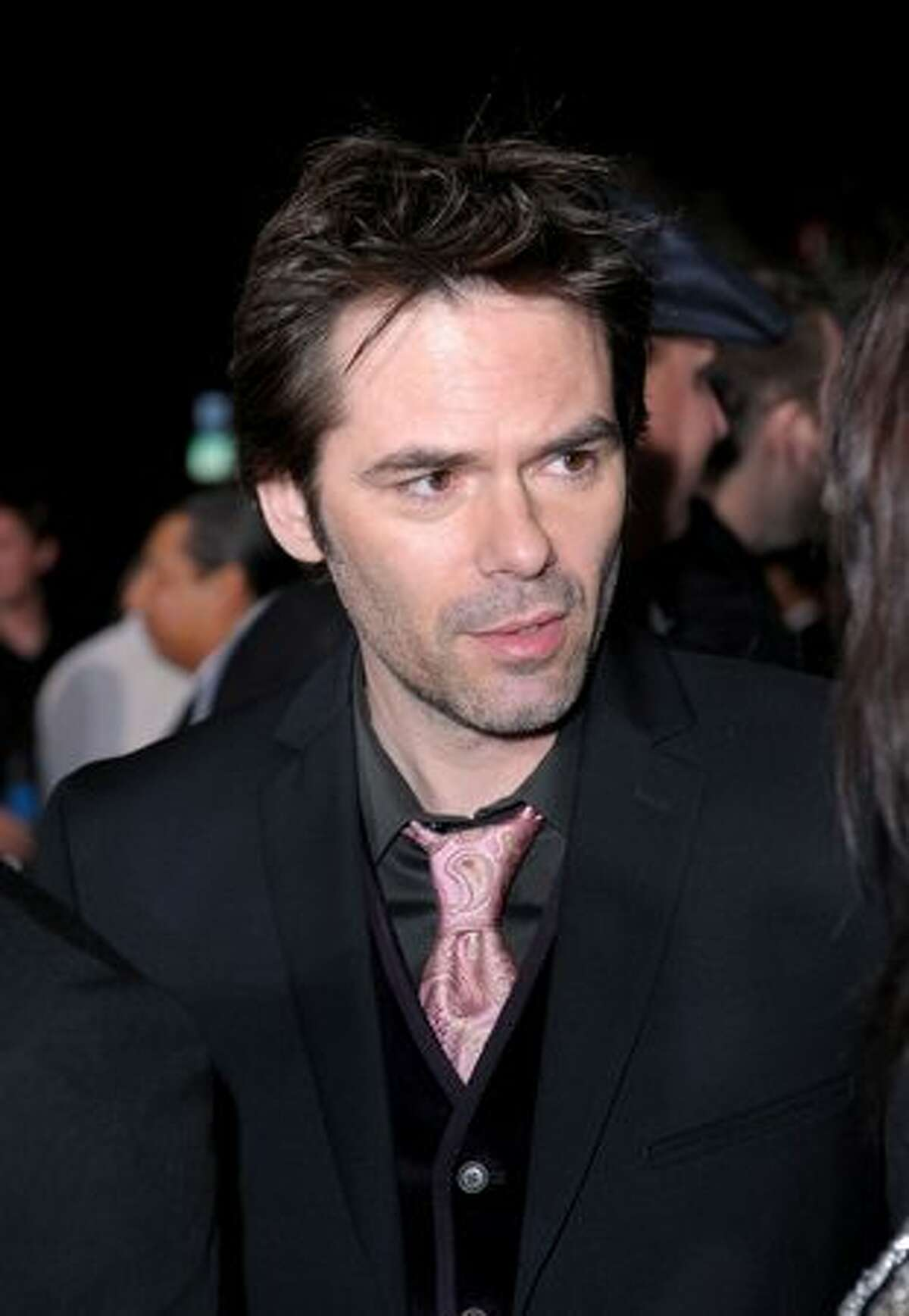 Billy Burke arrives to the premiere of Summit Entertainment's