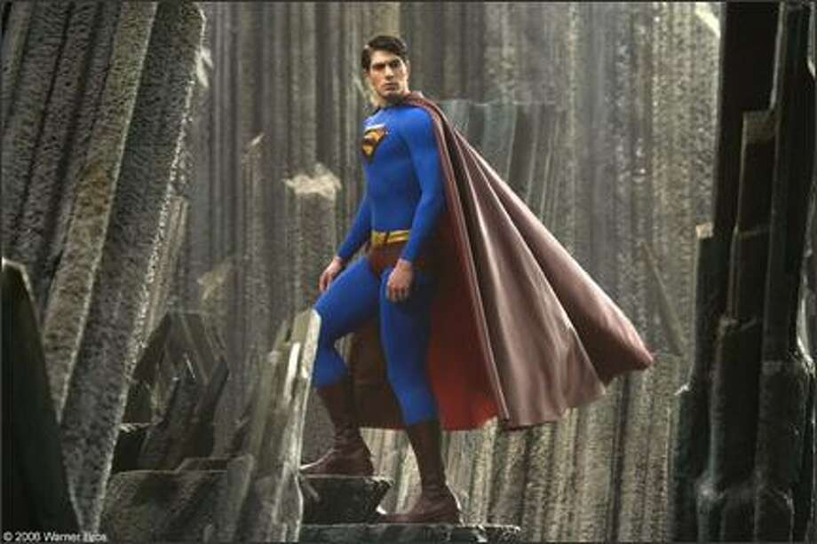 "Brandon Routhplayed the Man of Steel in ""Superman Returns"" in 2006. Photo: Warner Bros."