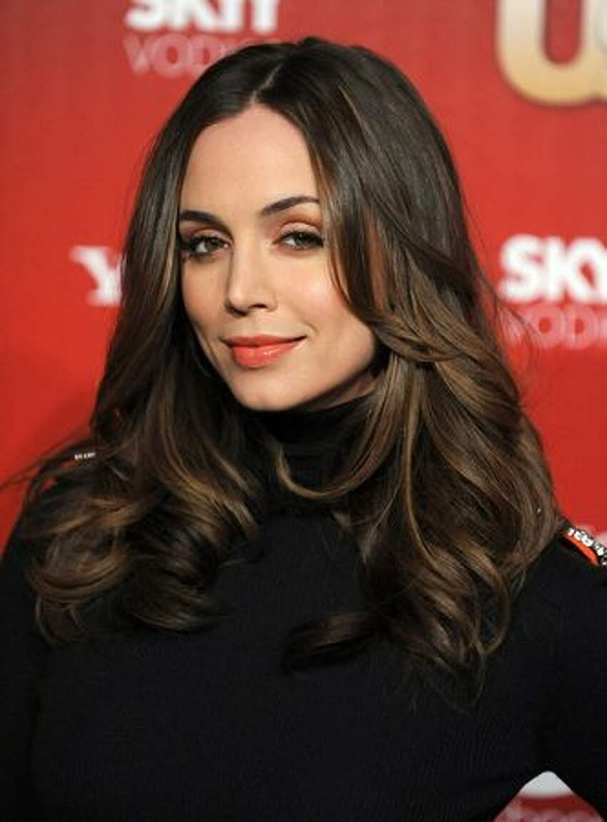 Actress Eliza Dushku arrives at the Us Weekly Hot Hollywood Event at Voyeur in Los Angeles, California.
