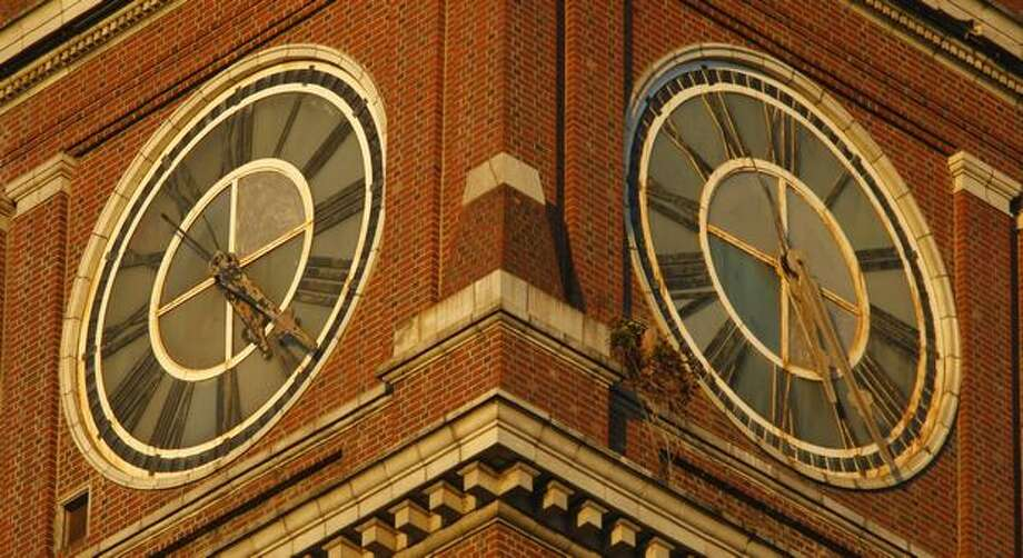King Street Station, Oct. 27, 2008. (Andy Rogers/seattlepi.com file)