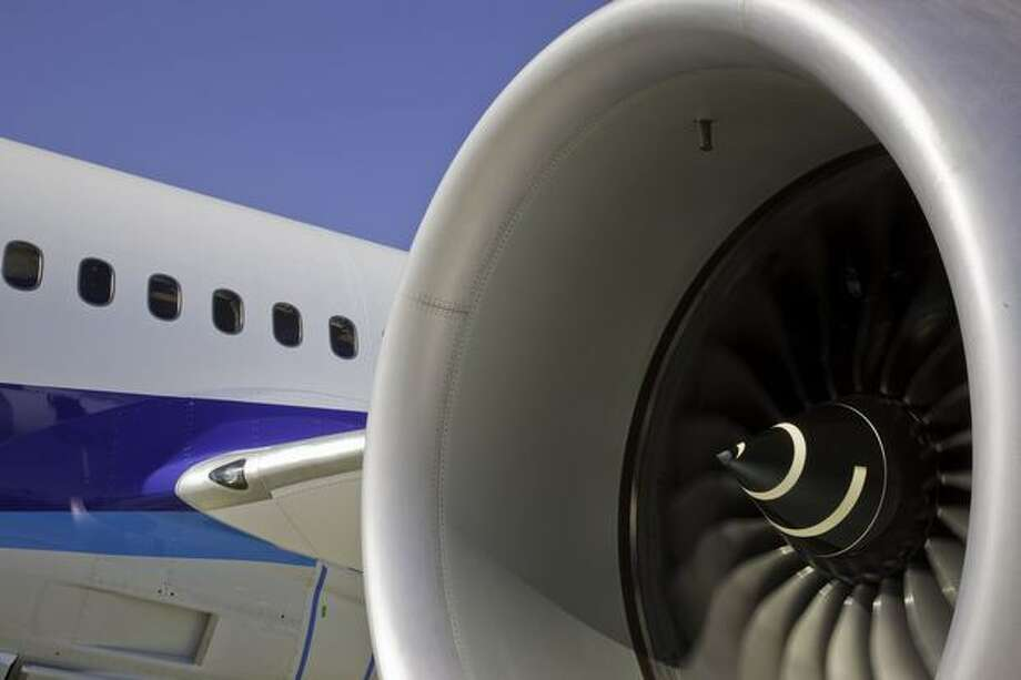 Boeing completes engine runs July 1, 2009 for the second 787 Dreamliner. (Boeing photo)