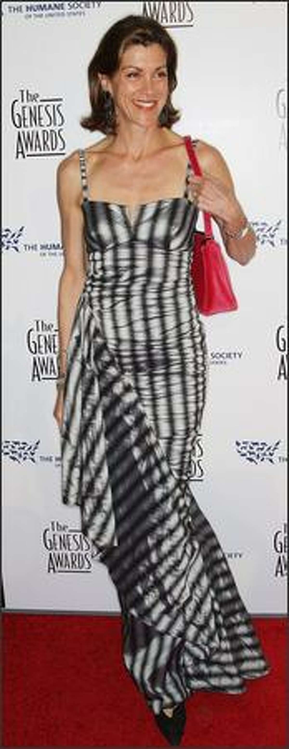 Actress Wendie Malick attends the 23rd annual Genesis Awards at the Beverly Hilton Hotel in Beverly Hills, Calif.