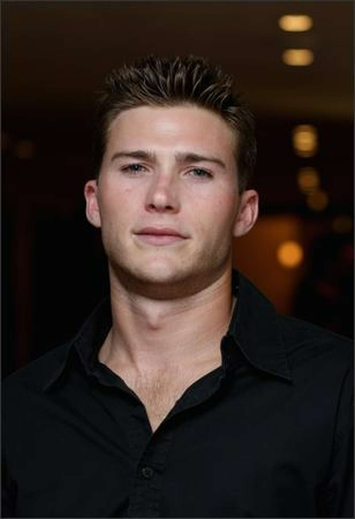 Scott Eastwood arrives at the Grand Opening of the new One&Only Cape Town resort in Cape Town, South Africa.