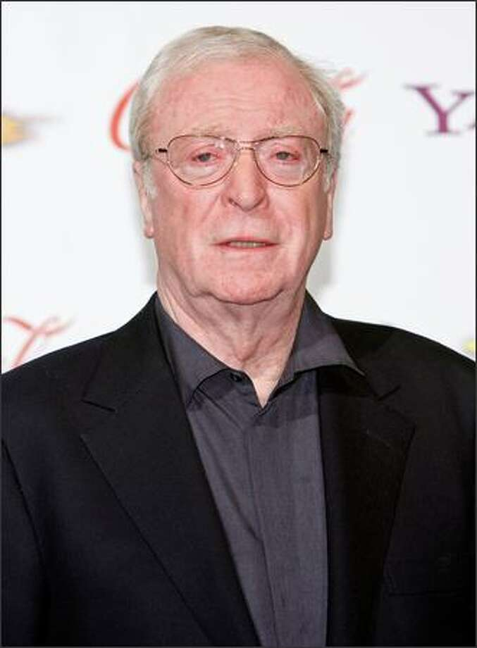 Actor Michael Caine, recipient of the Lifetime Achievement Award, attends the 2009 ShoWest convention final night banquet and awards ceremony held at Paris Las Vegas on Thursday, April 2, 2009. ShoWest is a gathering of movie theater owners and operators. Photo: Getty Images